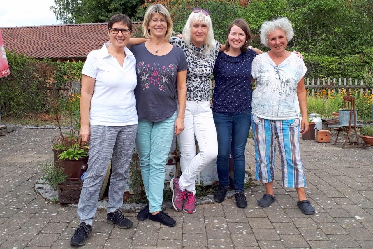 Marika Marsovszki, Doris Gaißmaier, Samuel Hartmann, Michael Ulrich, Erika Thomma